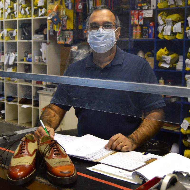 Shoe, handbag and jacket repair